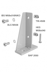 BAP 205_     Safety Fence Floor Bracket