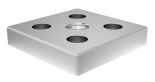 BAP 1010 Base and Transport Plate 100x100, M20 thread