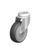 CAS 2080 Swivel Castor with bolt hole fitting 80 mm