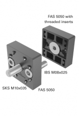 FAS 5061 End-to-End Fastener Kit, 50x50