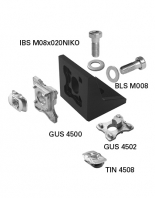 GUS 4501 Corner Bracket 40/50 Kit